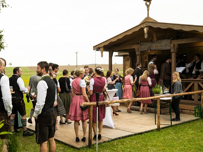 Alm-Hüttenverleih, Partyhütte Bayern, Eventhütte mieten